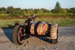 Wytatuowany motocykl recydywista The Recidivist 1