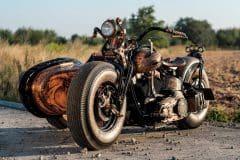 Wytatuowany motocykl recydywista The Recidivist 2