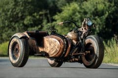 Wytatuowany motocykl recydywista The Recidivist 3