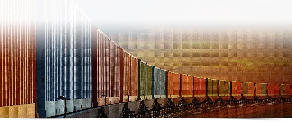 slider spedycja kolejowa
