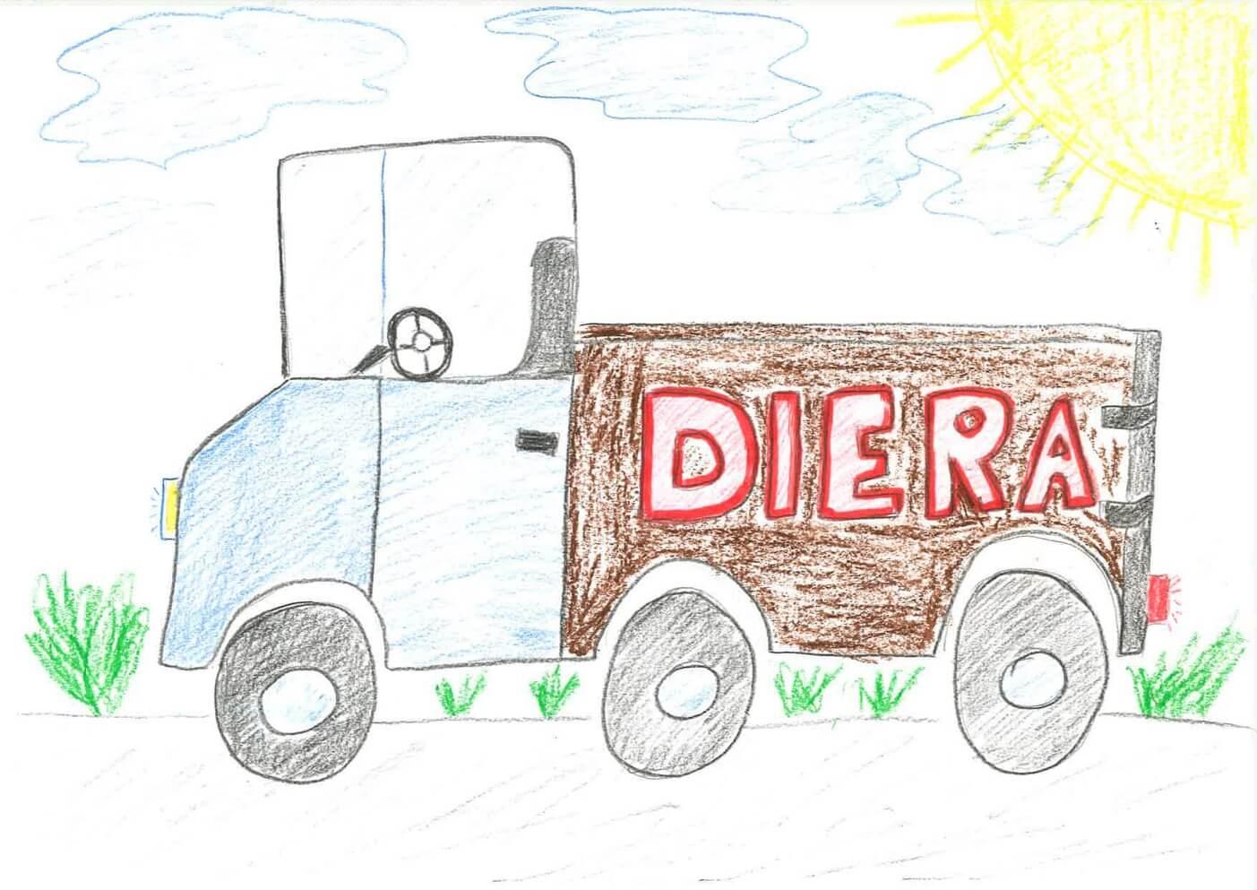 Rysunek Maks Trynka, lat 11
